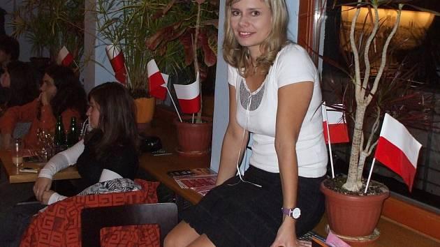 Spolupořadatelka ostravského festivalu Polské dny Romana Vlková.