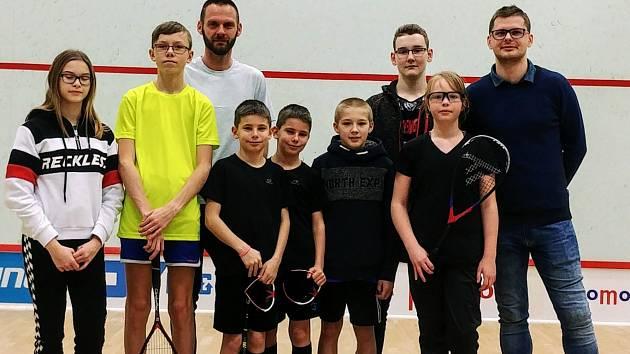 Mistrovství ČR juniorů ve squashi.