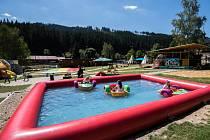 Dětský letní park na Bílé.
