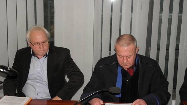Igor Fargaš s obhájcem.