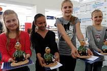 Nejlepší učitelé a žáci převzali ocenění ve středu v Domě knihy Librex.