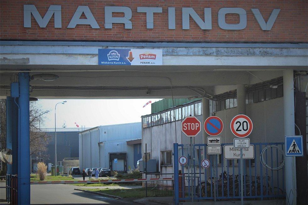 Průmyslový areál Martinov.