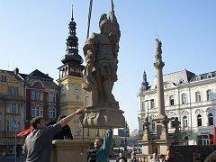 V květnu roku 2008 po čtyřiceti sedmi letech se socha svatého Floriána vrátila na ostravské Masarykovo náměstí.