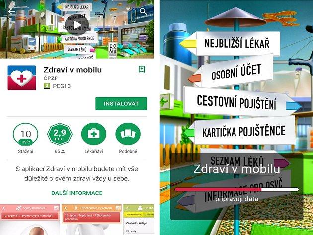 ČPZP má novou aplikaci v mobilu.