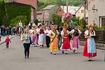 Honění krále. Už 47. ročník této akce hostila v sobotu Lhotka u Ostravy. Lidové veselice se zúčastnilo asi patnáct stovek lidí.