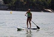 Republikový šampionát v paddleboardu. Ilustrační foto.