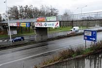 Lávka mezi nádražím Ostrava-střed a autobusovým nádražím