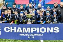 Memoriál Evžena Hadamczika vyhrál domácí Baník Ostrava. Mezinárodní žákovský fotbalový turnaj se konal již po třiačtyřicáté. Foto: FC Baník Ostrava