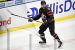 Mistrovství světa hokejistů do 20 let, finále: Rusko - Kanada, 5. ledna 2020 v Ostravě. Na snímku Akil Thomas.