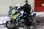 MOTORKY. Ve vybavení moravskoslezská policie se objevily i motocykly BMW.