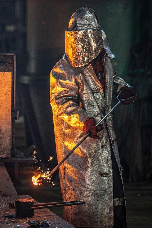Znovuobnovená vysoké pece č. 2. Vysoká pec byla dočasně odstavena z důvodu poklesu poptávky v důsledku pandemie koronavirů v Ostravě dne 8. září 2020.