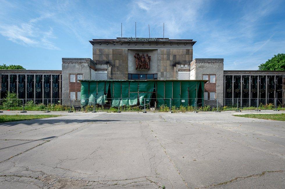 DK Poklad v Ostravě-Porubě, červen 2019.