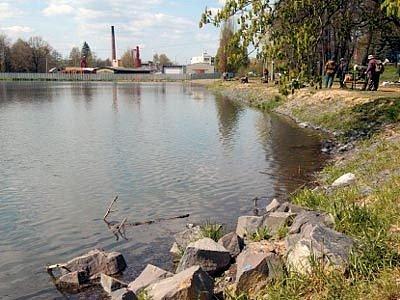 Rybník v Ostravě-Porubě