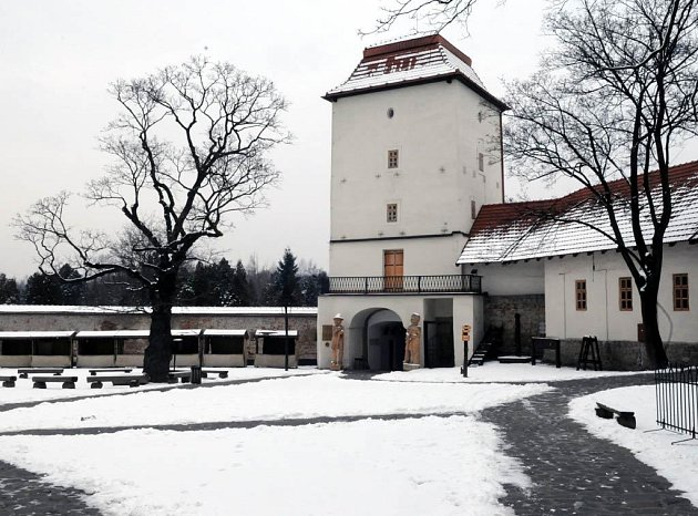 Slezskoostravský hrad v Ostravě.