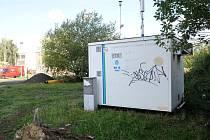 V Ostravě-Zábřehu zaznamenává Český hydrometeorologický ústav zvýšenou koncentraci prachových částic.