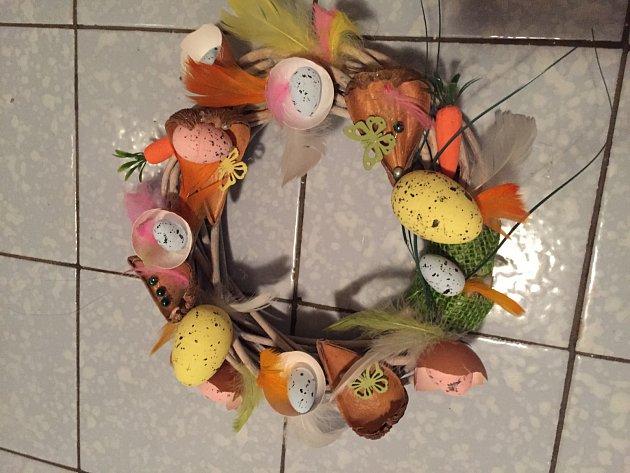 Velikonoční výzva - dekorace Andrey Strachové
