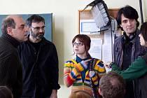 Ilustrační foto z natáčení seriálu 4teens.