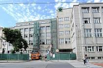 Budova bývalého generálního ředitelství OKD v Ostravě.