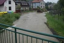 Povodně na začátku června v Ostravě-Petřkovicích.