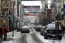 Stodolní ulice v zimě. Ilustrační foto