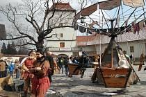 Ilustrační foto z předchozích ročníků velikonoční akce na Slezskoostravském hradě.