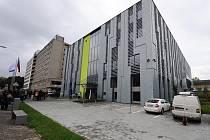 Budova Národního superpočítačového centra IT4Innovations v areálu Vysoké školy báňské Technické univerzity Ostrava.
