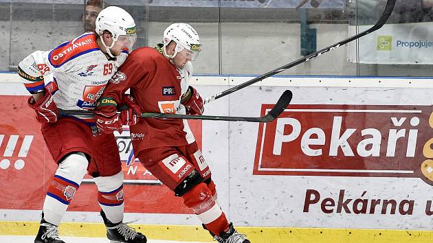 Utkání 48.kola Chance ligy: HC RT Torax Poruba - Slavia Praha, 1. února 2020 v Ostravě.