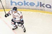 Utkání 32. kola hokejové extraligy: HC Vítkovice Ridera - PSG Berani Zlín, 4. ledna 2019 v Ostravě. Na snímku Ondřej Roman.