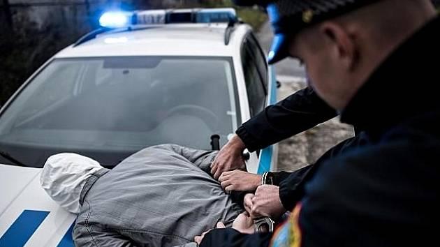 Zákrok ostravských strážníků. Ilustrační foto.