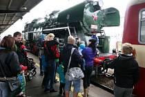 Den železnice v Ostravě.