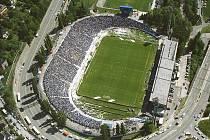 Stadion Bazaly. Ilustrační foto.