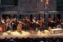 Letní shakespearovské slavnosti na Slezskoostravském hradě, představení Romeo a Julie.
