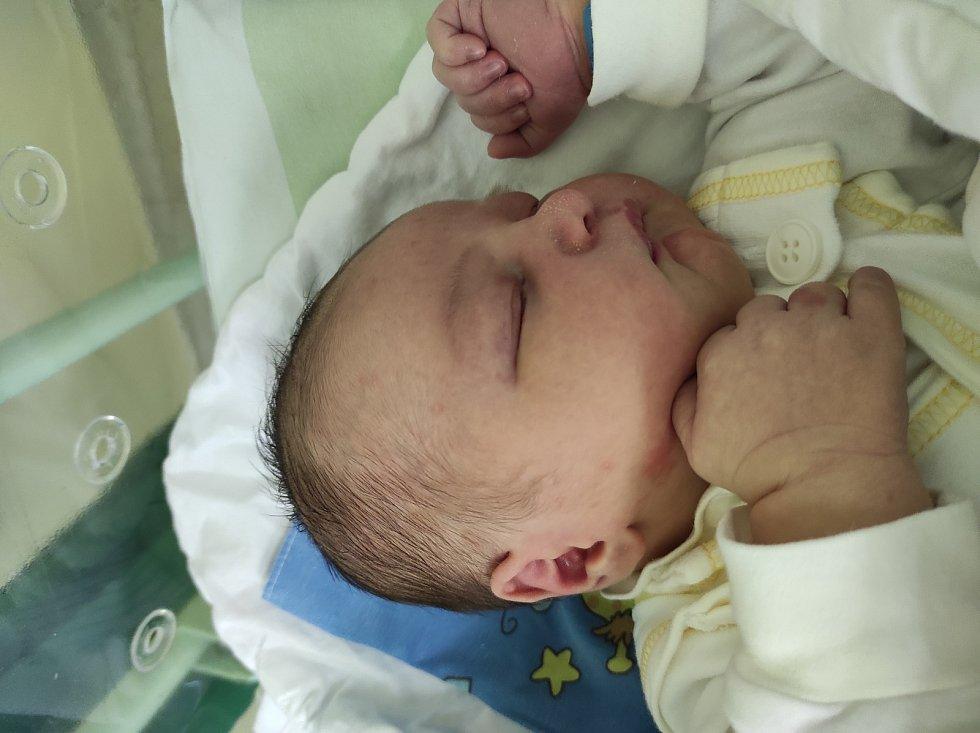 Michael Matula, Frýdek-Místek narozen 19. dubna 2021 míra 51 cm, váha 4150 g. Foto: Jana Březinová