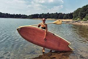 Paddleboard. Ilustrační foto.