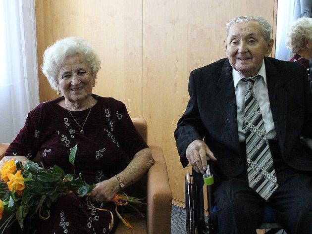 Manželé Helena a Jaroslav Sedlaříkovi.