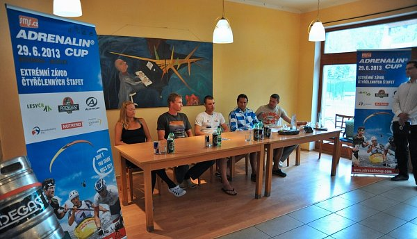 Tisková konference Adrenalin Cup 2013