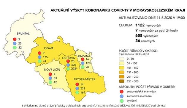 Mapa KHS, 11.května.
