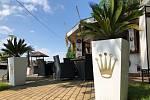 Bar v severovýchodním rohu Letního koupaliště Poruba.