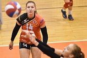 Volejbal, ženy - Ostrava – Frýdek-Místek, 17. října 2018 v Ostravě. Na snímku Kateřina Zemanová.