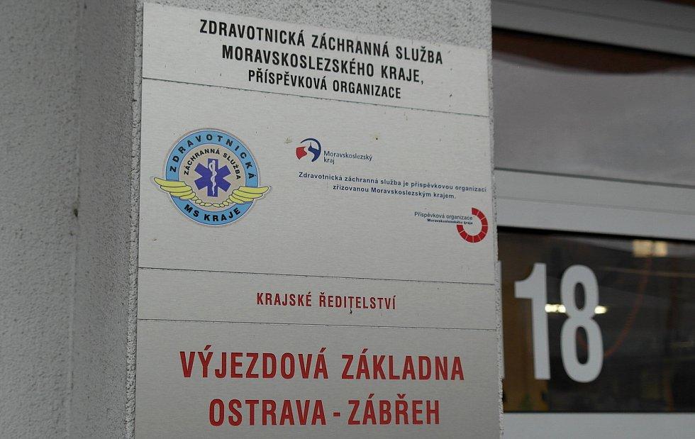 Integrované výjezdové centrum v Ostravě-Zábřehu je jednou z pěti základen záchranky v Ostravě.