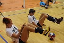 Ilustrační foto z tréninku ostravských volejbalistek.