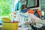 Systém a webová aplikace, které umožní zhruba pěti tisícům dobrovolníků z Moravskoslezského kraje přihlásit se na plošné testování na koronavirus, jsou připraveny.