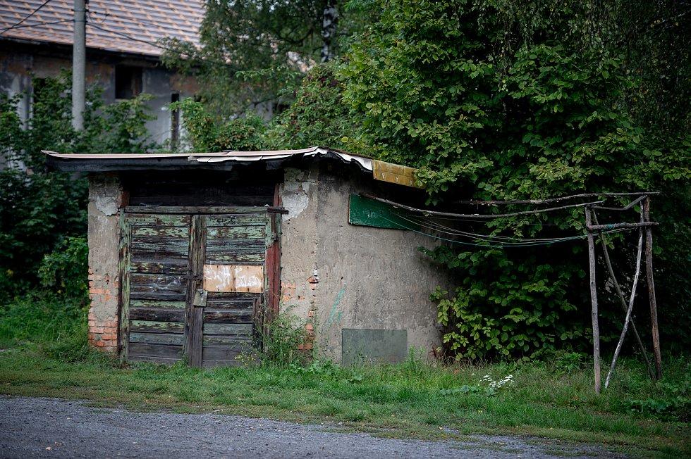 Ostravská sociálne vyloučená lokalita Zárubek, září 2019.