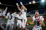 Finále ligy amerického fotbalu, Ostrava Steelers - Prague Lions, 20. července 2019 v Ostravě.