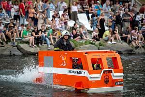 Rozmarné slavnosti řeky Ostravice, 22. června 2019 v Ostravě.