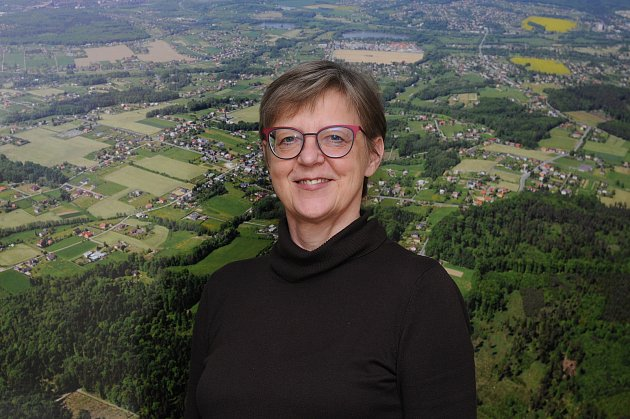 Starostka Václavovic Magda Pustková.