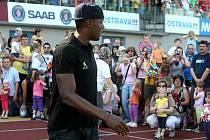 Usain Bolt na Čokoládové tretře. Ilustrační foto