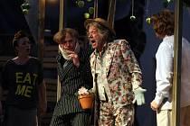 Letní shakespearovské slavnosti na Slezskoostravském hradě, představení Zkrocení zlé ženy.