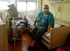 Rakovina trápí Andreu podruhé během čtyř let, teď už je po chemoterapii a čeká na vhodného dárce kostní dřeně.