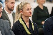 Setkání s hejtmanem moravskoslezského kraje Ivo Vondrákem - akce Deníku, kterou uspořádal 28. listopadu 2017 v Multifunkční aule Gong v Dolních Vítkovicích. Radana Staňková.